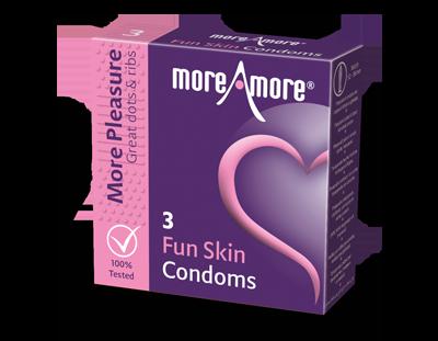Fun Skin 3 condoms - More Pleasure
