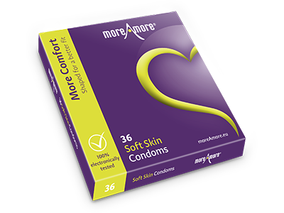 Soft Skin 36 condoms - More Comfort