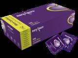 MoreAmore Soft Skin 100 condooms met extra glijmiddel links
