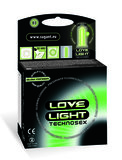 Love Light lichtgevende condooms glow-in-the-dark condooms