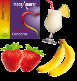 Tasty Skin 3 condoms - More Taste_