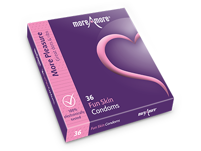 Fun Skin 36 condoms - More Pleasure