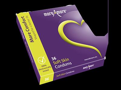 Soft Skin 36 condoms - More Comfort