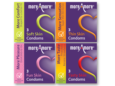 Combideal 4x3-pack condoms