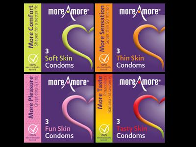 Combideal 4x3-pack condoms